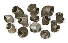 Black, Malleable Iron Fittings