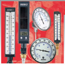 Thermometers, Bi-Metal Thermometers, Thermowells