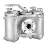 Duplex basket strainer, Keckley, Mueller Steam Specialty