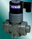 Solenoid Valves:  PVC, CPVC, Hayward