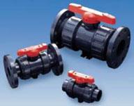 Ball valves, PVC, CPVC, Polypropylene, PVDF, Asahi/America, Hayward, Georg Fischer, Spears