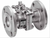 Xomox ball valves, flanged, threaded, stainless steel, carbon steel